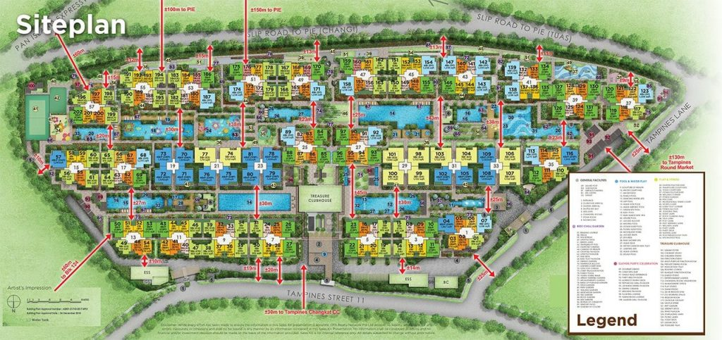 Treasure-at-Tampines-Condo-Siteplan